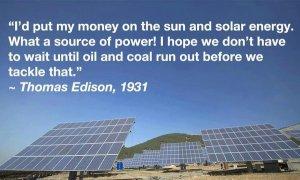 Edison solar quote